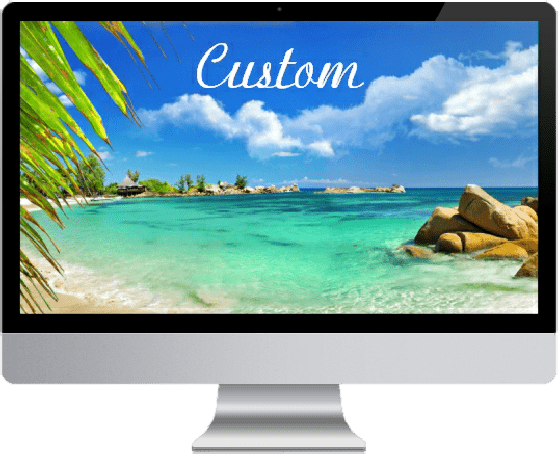 custom website design for therapists - multiple devices