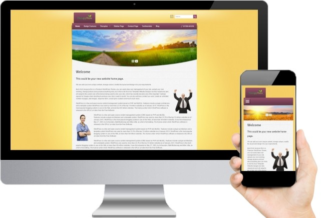 Reiki Website Templates Ten