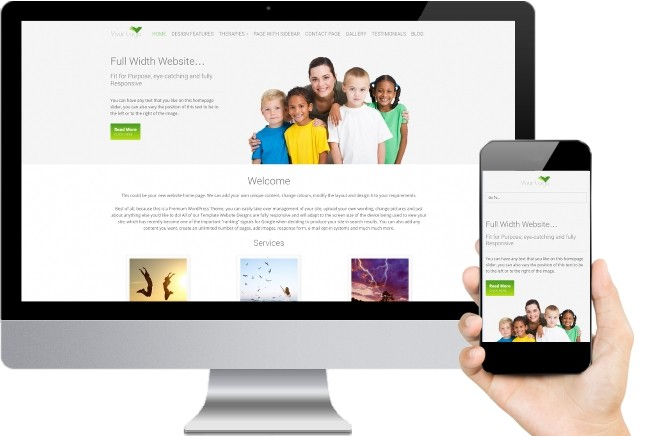 Physiotherapy Website Templates Five