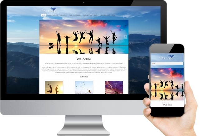 Reiki Website Templates Four