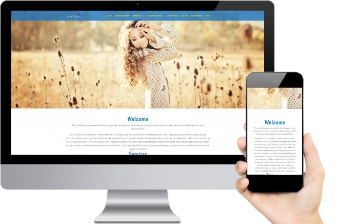 Reiki Website Templates Six
