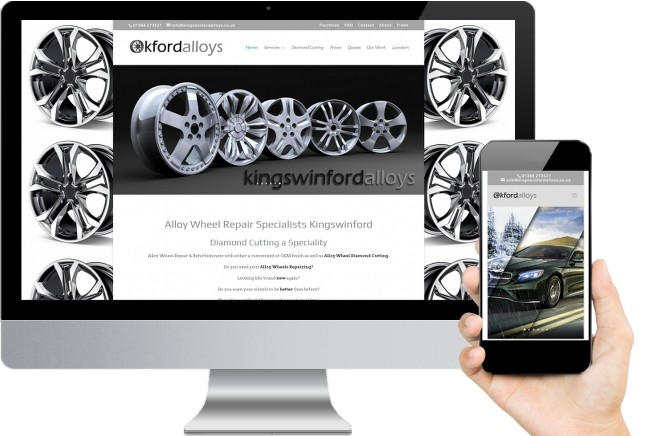 Kingswinford Alloys Small Business Web Design