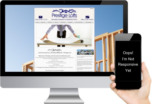 Prestige Lofts Small Business Web Design