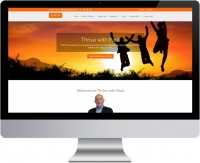 Thrive with Paul website design