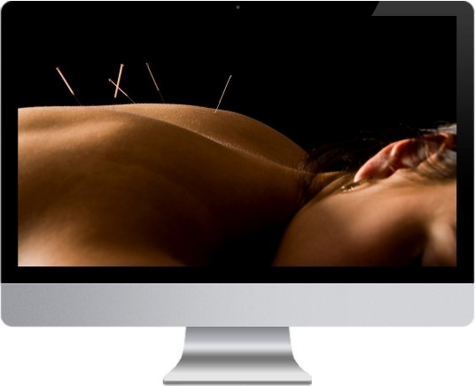 speciality web design - acupuncture