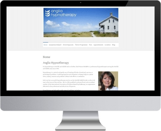 Anglia Hypnotherapy Website Design