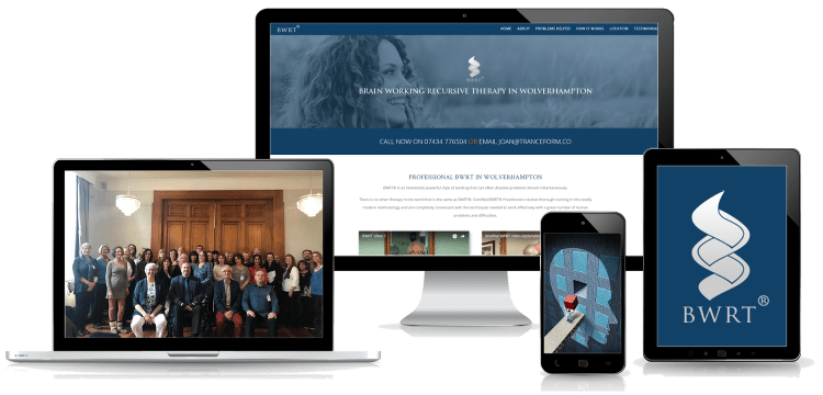 bwrt web design for therapists montage