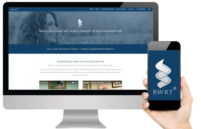 bwrt website design mac and mobile