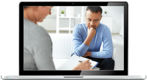 Counselling Website Templates - laptop image