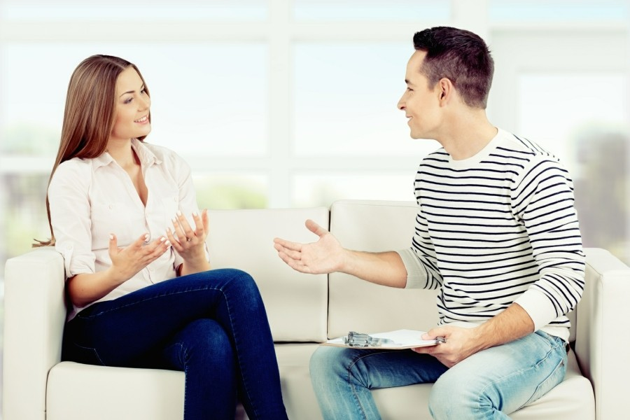 Counselling Website Templates - counsellor and client