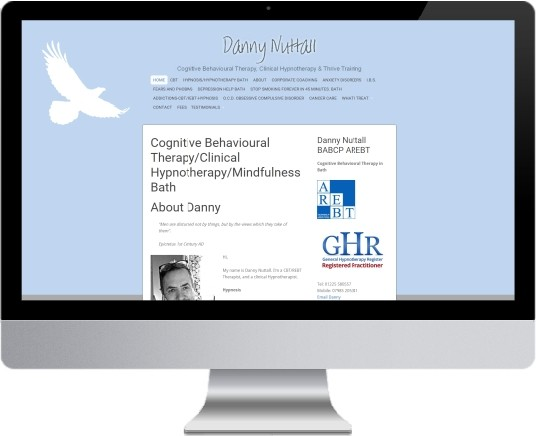 Danny Nuttall Website Design