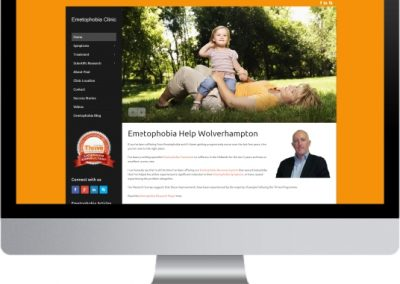 Emetophobia Clinic Website Design