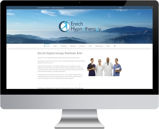 Enrich Hypnotherapy Website Design
