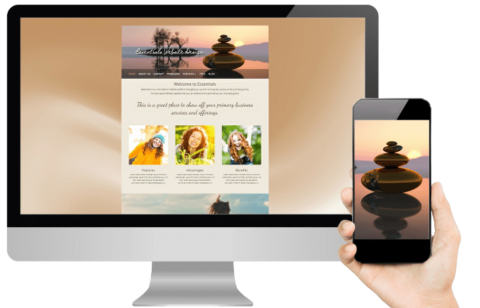 Essentials website design for therapists design layout