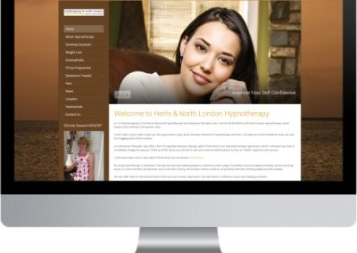 Hertfordshire Hypnotherapy Website Design