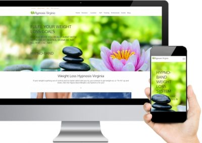 Hypnosis Virginia Website Design