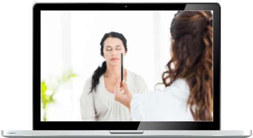 hypnotherapy website templates - laptop image of hypnotherapist