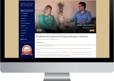 Ipswich Hypnosis Website Design