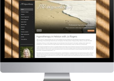 JTR Hypnotherapy Website Design