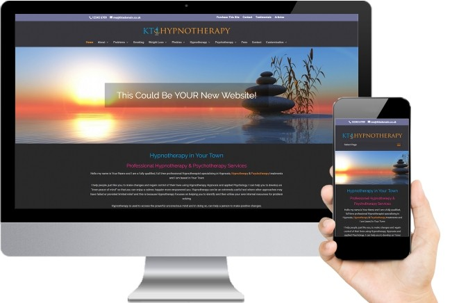 KT Hypnotherapy Website Design