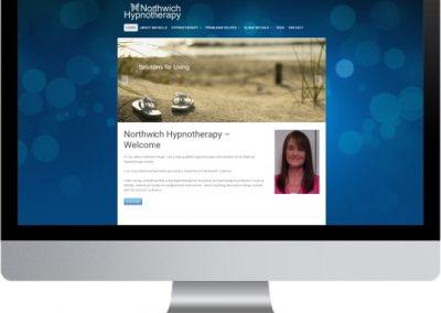 Northwich Hypnotherapy Website Design