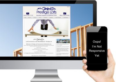 Prestige Lofts Website Design