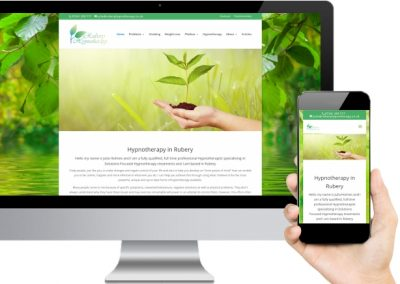 Rubery Hypnotherapy Website Design