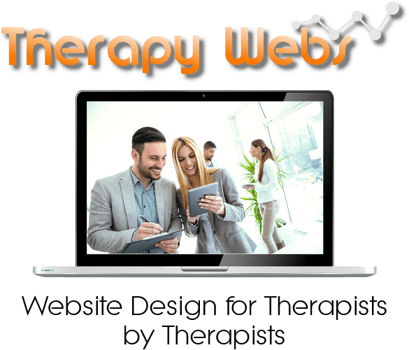 Bespoke website design for therapists sidebar logo