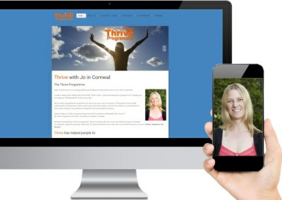 Thrive with Jo Website Design