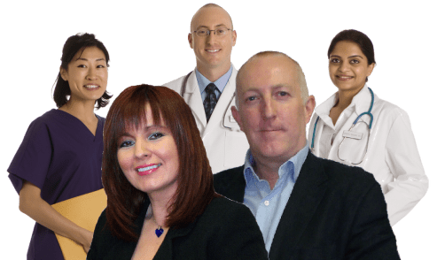 website design for therapists team photo